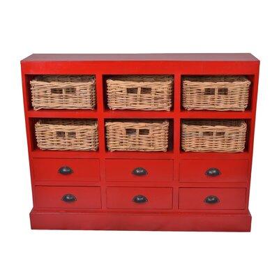 Jeffan Nantucket 6 Drawer Storage Cabinet