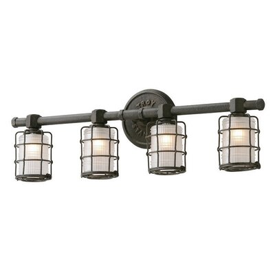 Troy Lighting Mercantile 4 Light Vanity Light