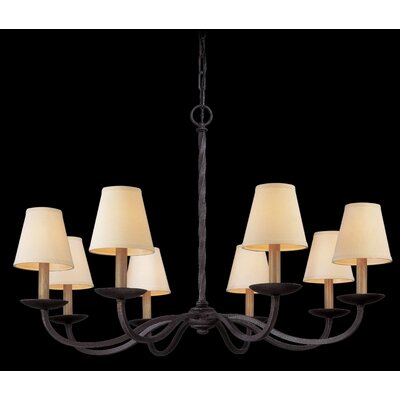 Troy Lighting Alexander 8 Light  Chandelier