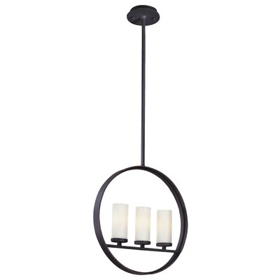 Troy Lighting Eclipse 3 Light Small Pendant