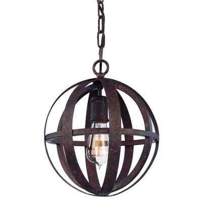 Troy Lighting Flatiron 1 Light Small Pendant