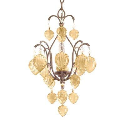 Venetian 1 Light Pendant by Corbett Lighting