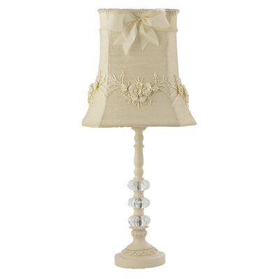 """Jubilee Collection Three Glass Ball 23.75"""" H Table Lamp with Bell Shade"""