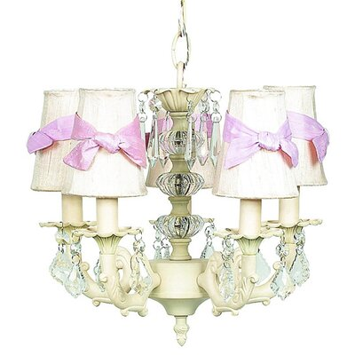 Jubilee Collection Stacked Glass Ball 3 Light Chandelier
