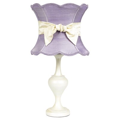 """Jubilee Collection Curvature 26.75"""" H Table Lamp with Hourglass Shade"""