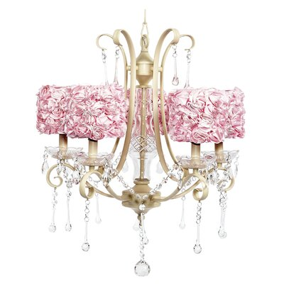 Colleen 5 light Crystal Chandelier by Jubilee Collection