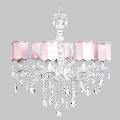 Pageant 8 Light Chandelier by Jubilee Collection