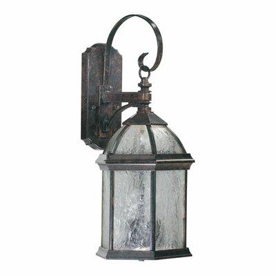 Quorum Weston 3 Light Wall Lantern
