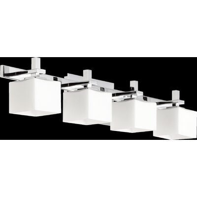 4 Light Square Vanity Light Product Photo