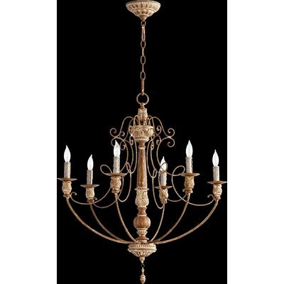 Salento 6 Light Chandelier Product Photo