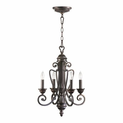 Summerset 4 Light Entry Chandelier by Quorum
