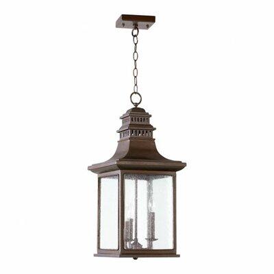 Magnolia 3 Light Outdoor Pendant by Quorum