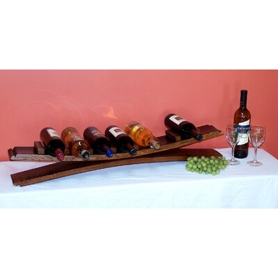 7 Bottle Tabletop Wine Rack by 2 Day