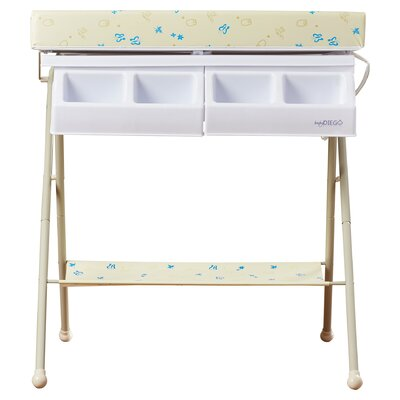 Baby Diego Bathinette Foldable Bathtub And Changer Combo Amp Reviews Wayfair