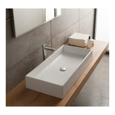 Teorema Ceramic Vessel Bathroom Sink Product Photo