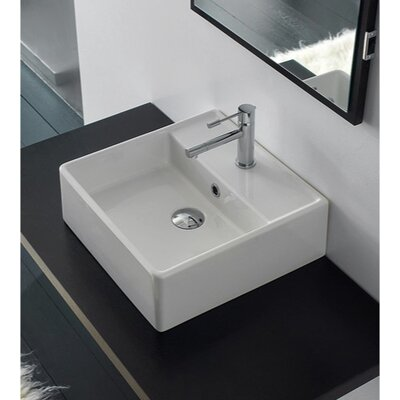 Scarabeo by Nameeks Teorema Wall Mounted Bathroom Sink