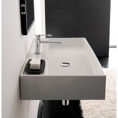 Teorema Wall Mounted Bathroom Sink Product Photo