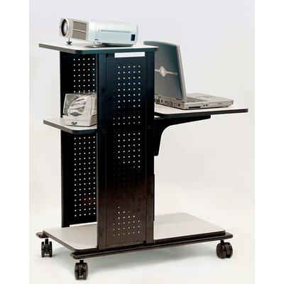 H. Wilson Company 4-Shelf Presentation Station with Cabinet
