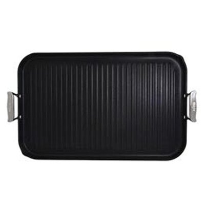 "All-Clad Specialty Cookware 20"" x 13"" Nonstick Grill Pan"