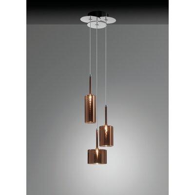 Spillray 3 Light LED Cluster Pendant by Axo Light