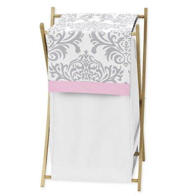 Sweet Jojo Designs Pink and Gray Elizabeth Laundry Hamper