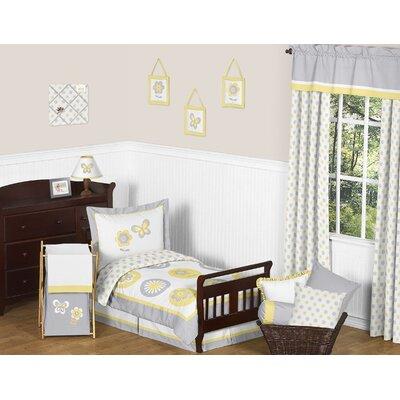 Mod Garden Toddler Bedding Collection by Sweet Jojo Designs