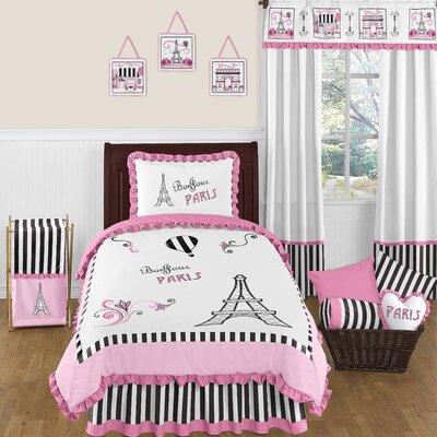 Paris 4 Piece Twin Bedding Set by Sweet Jojo Designs