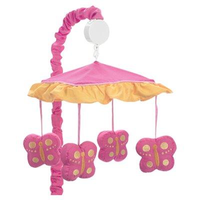 Sweet Jojo Designs Butterfly Musical Mobile
