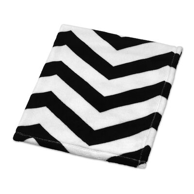 Chevron Plush Baby Blanket by Sweet Jojo Designs