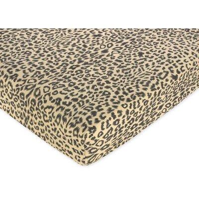 Sweet Jojo Designs Animal Safari Fitted Crib Sheet