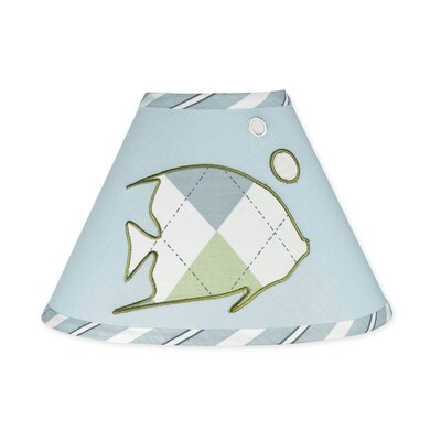 "Sweet Jojo Designs 10"" Go Fish Empire Lamp Shade"