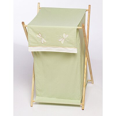 Sweet Jojo Designs Green Dragonfly Dreams Laundry Hamper