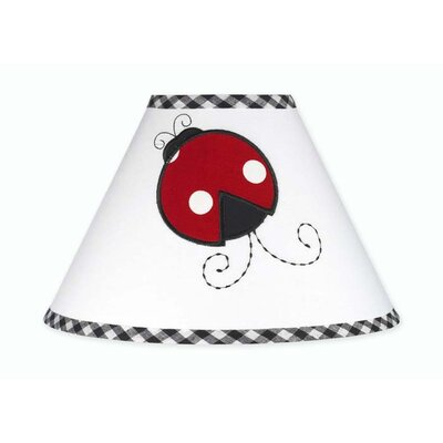 "Sweet Jojo Designs 10"" Little Ladybug Empire Lamp Shade"