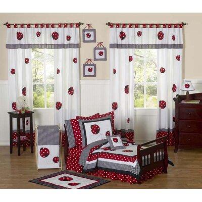Sweet Jojo Designs Little Ladybug Polka Dot Toddler Bedding Collection