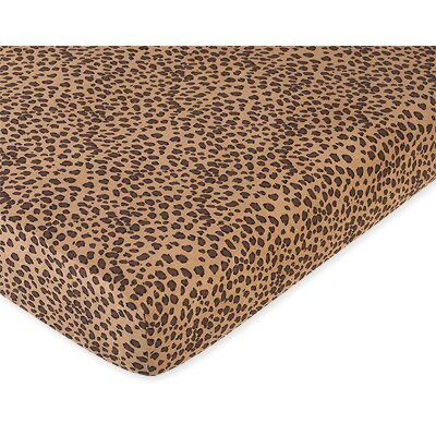 Sweet Jojo Designs Cheetah Fitted Crib Sheet