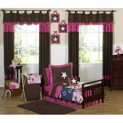Cowgirl Western Toddler Bedding Collection by Sweet Jojo Designs