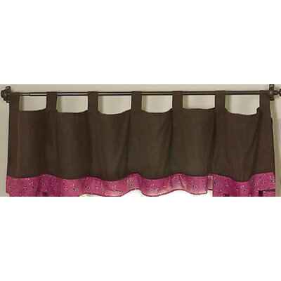 "Sweet Jojo Designs Cowgirl Tab Top 84"" Curtain Valance"