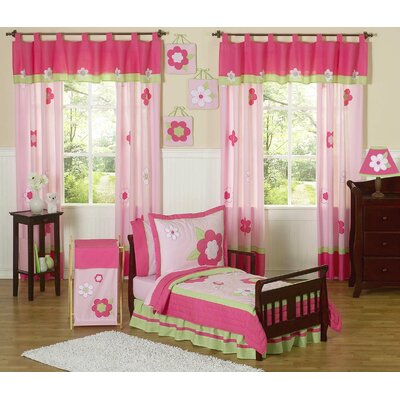 Flower Toddler Bedding Collection by Sweet Jojo Designs