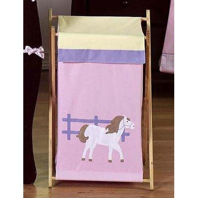 Pony Laundry Hamper by Sweet Jojo Designs