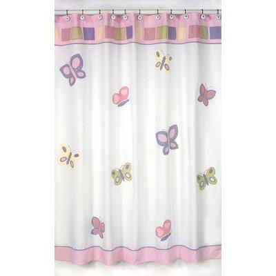 Sweet Jojo Designs Butterfly Shower Curtain