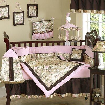 Sweet Jojo Designs Abby Rose 9 Piece Crib Bedding Set