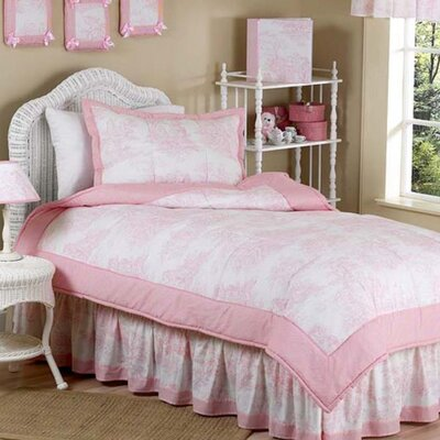 French Toile 4 Piece Twin Bedding Set by Sweet Jojo Designs