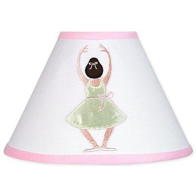 "Sweet Jojo Designs 7"" Ballerina Empire Lamp Shade"