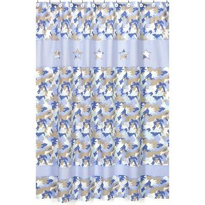 Sweet Jojo Designs Camo Shower Curtain