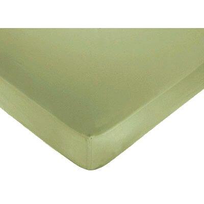 Green Fitted Crib Sheet by Sweet Jojo Designs