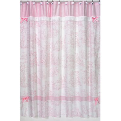 Sweet Jojo Designs French Toile Shower Curtain