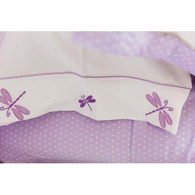 Sweet Jojo Designs Mod Dots Purple Kid Bedding Collection