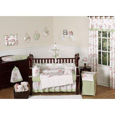 Riley's Roses 9 Piece Crib Bedding Set by Sweet Jojo Designs