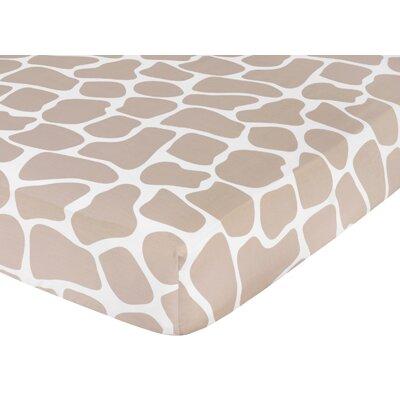 Sweet Jojo Designs Giraffe Fitted Crib Sheet