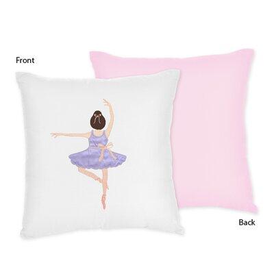 Sweet Jojo Designs Ballerina Throw Pillow